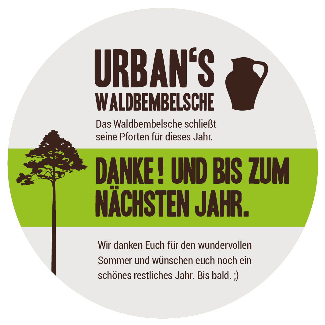 Waldbembelsche // Saison 2021 ist nun offiziell beendet